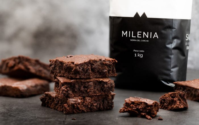 receta brownies punto sal milenia